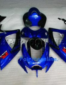 Blue ABS Fairing Set 23pc - Suzuki GSXR 600/750 2006-2007