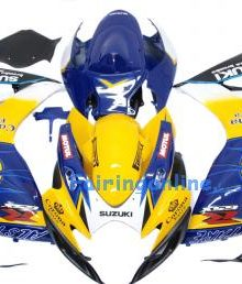 Corona Type 2 ABS Fairing Set 23pc - Suzuki GSXR 600/750 2006-2007