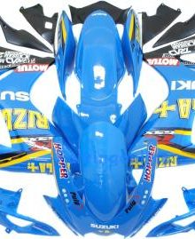 Blue Rizla Type 1 ABS Fairing Set 23pc - Suzuki GSXR 600/750 2006-2007
