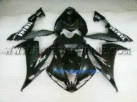 Black Type 2 ABS Fairing Set 15pc - Yamaha R1 2004-2006