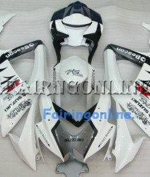 White Beacon ABS Fairing Set 25pc - Suzuki GSXR 600/750 2008-2009