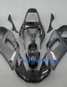 Black Type 2 ABS Fairing Set 10pc - Yamaha R6 1998-2002
