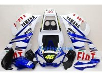 Fiat Type 3 ABS Fairing Set 10pc - Yamaha R6 1998-2002