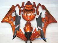 Orange/Black ABS Fairing Set 19pc - Yamaha R6 2006-2007