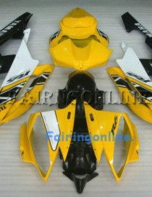 Yellow/Black ABS Fairing Set 19pc - Yamaha R6 2006-2007