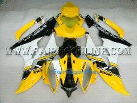 Yellow/White ABS Fairing Set 19pc - Yamaha R6 2006-2007
