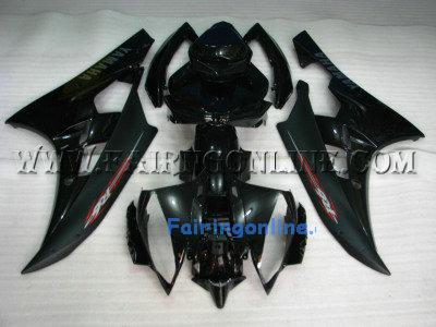 Black ABS Fairing Set 19pc - Yamaha R6 2006-2007