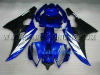 Blue ABS Fairing Set 19pc - Yamaha R6 2006-2007