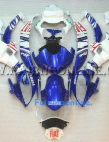 Fiat Type 3 ABS Fairing Set 19pc - Yamaha R6 2006-2007