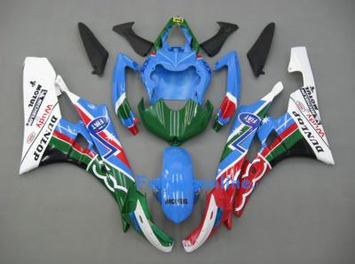 Fiat Type 4 ABS Fairing Set 19pc - Yamaha R6 2006-2007