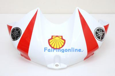 Red Santander Type 1 ABS Fairing Set 19pc - Yamaha R6 2006-2007
