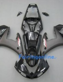 Black Type 5 ABS Fairing Set 13pc - Yamaha R6 2003