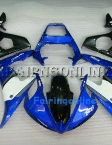 Blue/Black ABS Fairing Set 13pc - Yamaha R6 2003