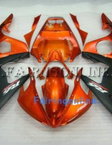 Orange ABS Fairing Set 13pc - Yamaha R6 2003