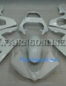 White Type 2 ABS Fairing Set 13pc - Yamaha R6 2003