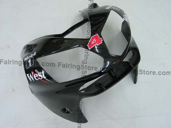 Kawasaki ZX12R 2002-2002 Fairings - Type 1