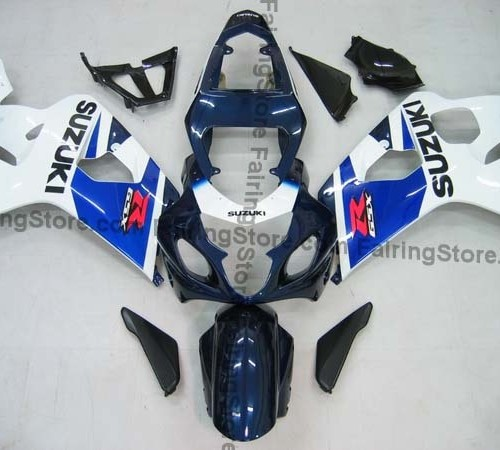 Type 6 ABS Fairing Set 10pc - Suzuki GSXR 600/750 2004-2005