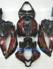 Honda CBR-600RR F5 2009-2012 ABS Fairing -Red/Black