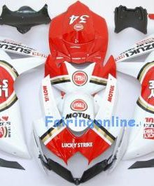 Lucky Strike ABS Fairing Set 25pc - Suzuki GSXR 600/750 2008-2009