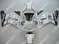 ZXMT White/Black Corona ABS Fairing Set 9pc - Suzuki GSXR 600/750 2000-2003