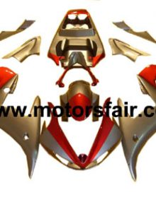 Yamaha R6 2003-2005 ABS Fairing - Red/Silver