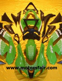 Kawasaki ZX6R 2007-2008 ABS Fairing - Green