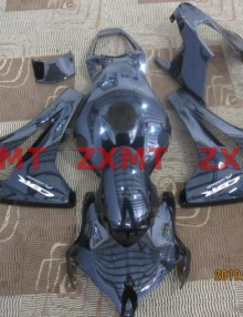 ZXMT Black ABS Fairing Set 19pc - Honda CBR 1000RR 2008-2009