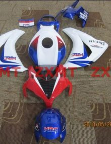 ZXMT Red/White/Blue ABS Fairing Set 19pc - Honda CBR 1000RR 2008-2009