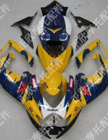 ZXMT Yellow Corona ABS Fairing Set 23pc - Suzuki GSXR600/750 2006-2007