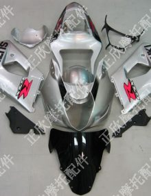 ZXMT Silver ABS Fairing Set 9pc - Suzuki GSXR1000 2003-2004