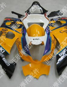 ZXMT Yellow Corona ABS Fairing Set 9pc - Suzuki GSXR1000 2003-2004