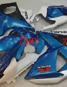 ZXMT Blue/White ABS Fairing Set 29pc - Suzuki GSXR1000 2009-2010