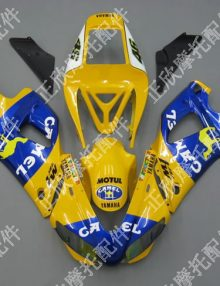 ZXMT Yellow Camel ABS Fairing Set 12pc - Yamaha YZF-R1 1998-1999