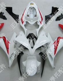 ZXMT Red/White ABS Fairing Set 20pc - Yamaha YZF-R1 2004-2006