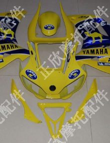 ZXMT Yellow Camel ABS Fairing Set 12pc - Yamaha YZF-R6 1998-2002