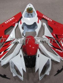 ZXMT Red/White ABS Fairing Set 15pc - Yamaha YZF-R6 2006-2007