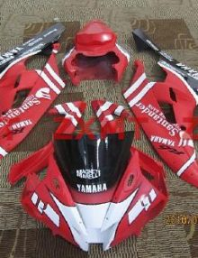 ZXMT Santander ABS Fairing Set 15pc - Yamaha YZF-R6 2006-2007