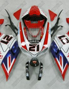 ZXMT Xerox ABS Fairing Set 21pc - Ducati 1098 2007-2009