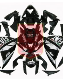 Black Fiat ABS Fairing Set 21pc - Yamaha YZF-R1 2009-2010