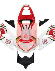 Lucky Strike ABS Fairing Set 9pc - Suzuki GSXR1000 2000-2002