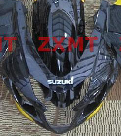 ZXMT Black/Yellow ABS Fairing Set 10pc - Suzuki GSXR 600/750 2004-2005