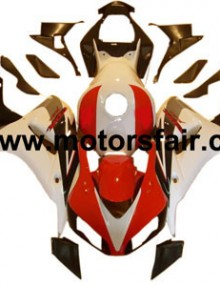 Honda CBR1000RR 2006-2007 ABS Fairing - Red/White***No Honda Logos***