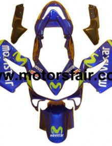 Honda CBR600 F4i 2001-2003 ABS Fairing - MoviStar***No Honda Logos***