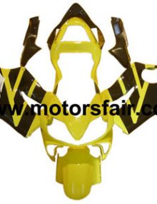Honda CBR600 F4i 2001-2003 ABS Fairing - Yellow/Black***No Honda Logos***