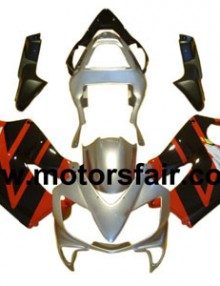 Honda CBR600 F4i 2001-2003 ABS Fairing - Red/Black/Silver***No Honda Logos***