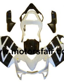 Honda CBR600 F4i 2001-2003 ABS Fairing - White/Black***No Honda Logos***