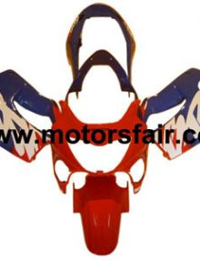 Honda CBR600 F4i 1999-2000 ABS Fairing - Red/Blue***No Honda Logos***