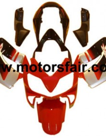 Honda CBR600 F4i 2004-2007 ABS Fairing - Black/Red/Silver***No Honda Logos***