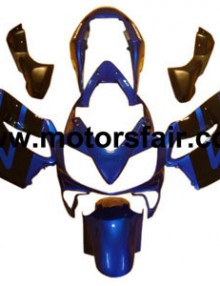 Honda CBR600 F4i 2004-2007 ABS Fairing - Blue/Black***No Honda Logos***