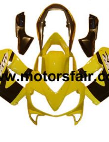 Honda CBR600 F4i 2004-2007 ABS Fairing - Yellow***No Honda Logos***